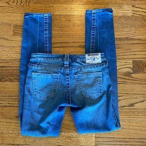 True Religion 'Skinny' Jeans Sz 25 EUC